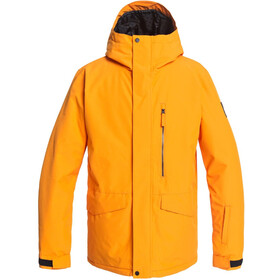 Quiksilver Mission Solid Chaqueta Snowboard Hombre, flame orange